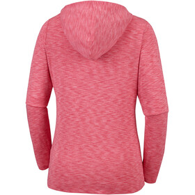 Columbia OuterSpaced Sweat à capuche zippé Femme, coral bloom spa